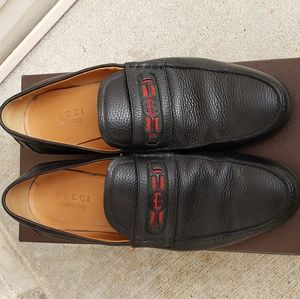 MENS GUCCI LOAFERS SIZE 10